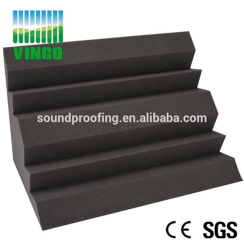 Acoustic soundproofing bass trap foam for corner