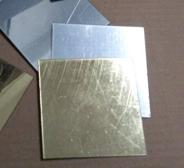 Acrylic gold mirror sheet with customized size