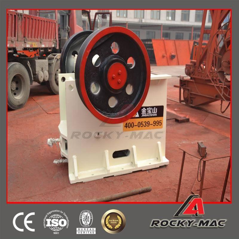Rockymac PE900*1200Z 350 t/h Basalt Jaw crusher mining
