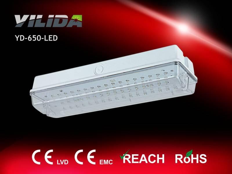 Yilida YD-650 Emergency bulkhead, emergency light hot sell in Europe with LED