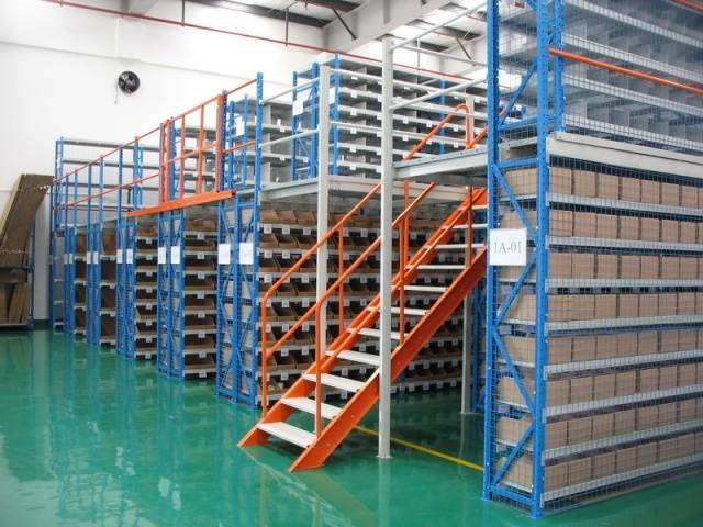 mezzanine/steel multi-tier racking /warehouse racking