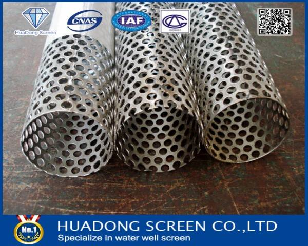 Good Quality API 5CT Stainless Steel Perforated casing Pipe(manufacture)