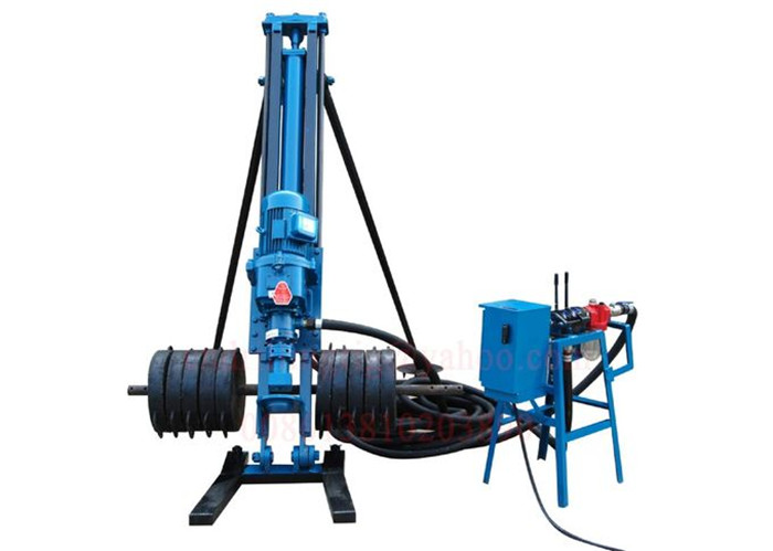 DM100A Pneumatic Powered Rock Drilling Rig