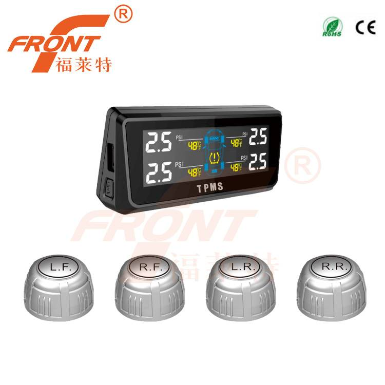 TPE08 Tire Pressure Monitoring System Solar Power TPMS