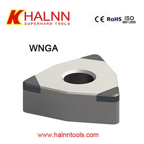 Halnn BN-H10 CBN cutting insert Hard turning Gear steel