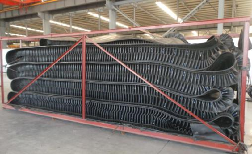 CORRUGATED SIDE WALL BELT
