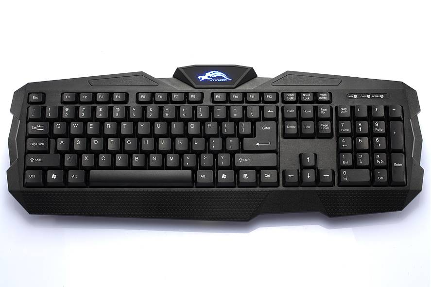2014 Newest Gaming Keyboard with Backlit Logo