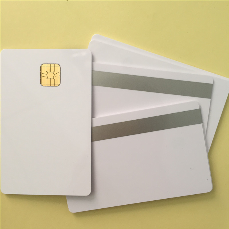 Sle4428 Chip with 2track Magnetic Stripe card For MSR609 Reader