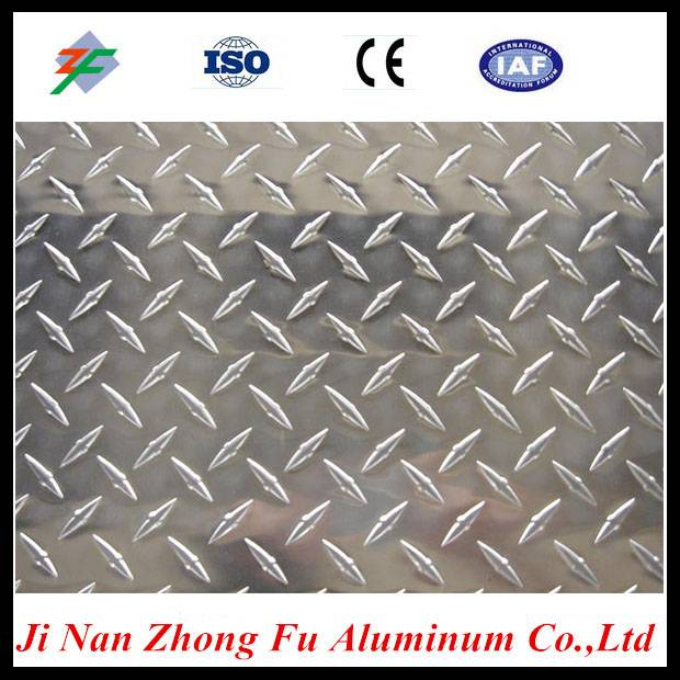 Cost of aluminum diamond plate sheets with competitive price
