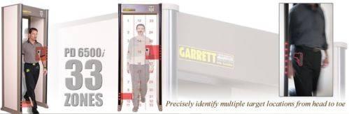 GARRETT PD 6500i WALK THROUGH METAL DETCTOR