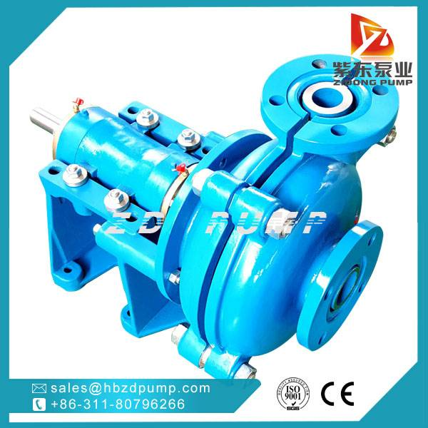 coal mine water slurry pump