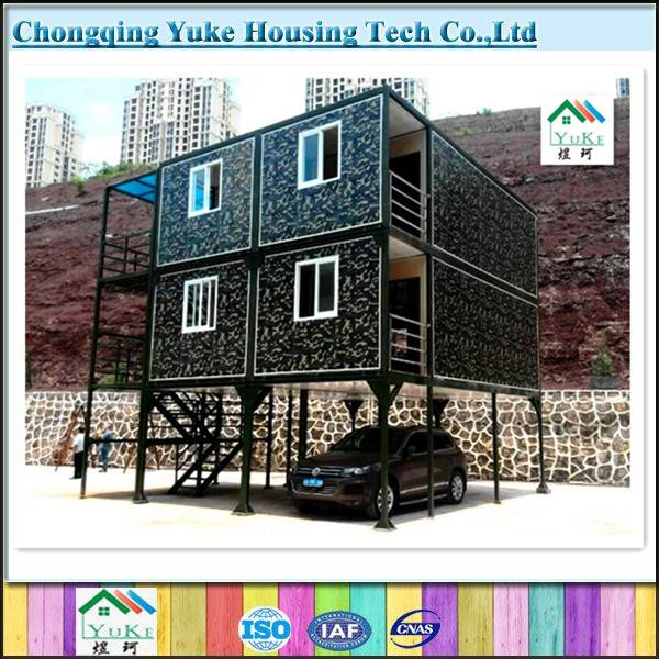 Sandwich Panel steel structure camping house