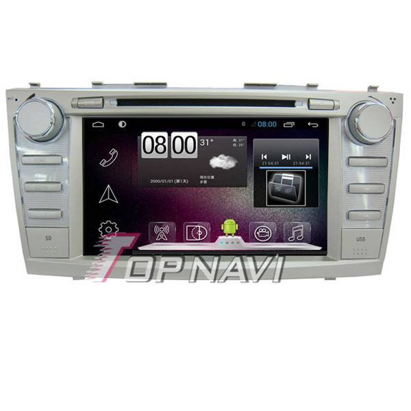800*480 8inch Android 4.4 Car GPS Player Video For Toyota Camry 2011 Navigation