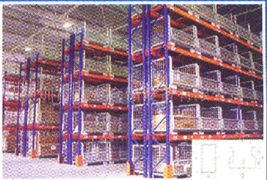 Medium Duty Steel Storage Beam Rack