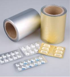cold forming aluminum foil for pharmaceutical package