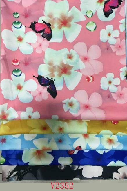Healthy Printed Fabric for Lady