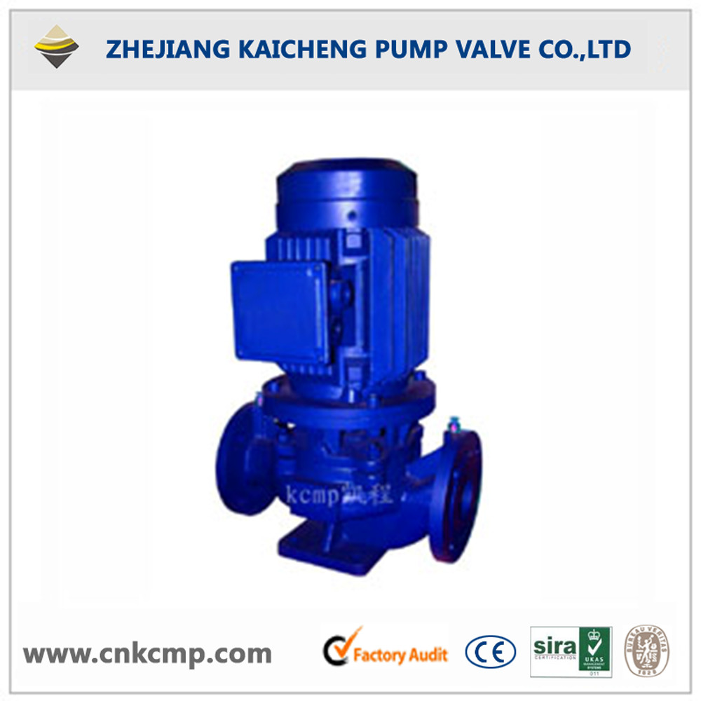 ISG Pressurized water circulation pump