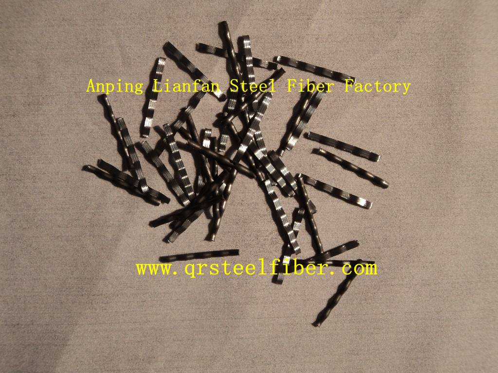 Mill cut steel fiber