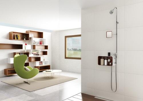 Puzzle-500 : Storage deck with Shower mixer set