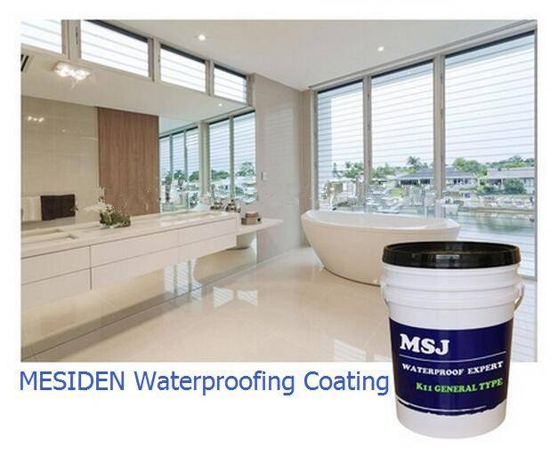 MESIDEN Acrylic Water-Based Waterproofing Coating/Water Resistant Paint For Building
