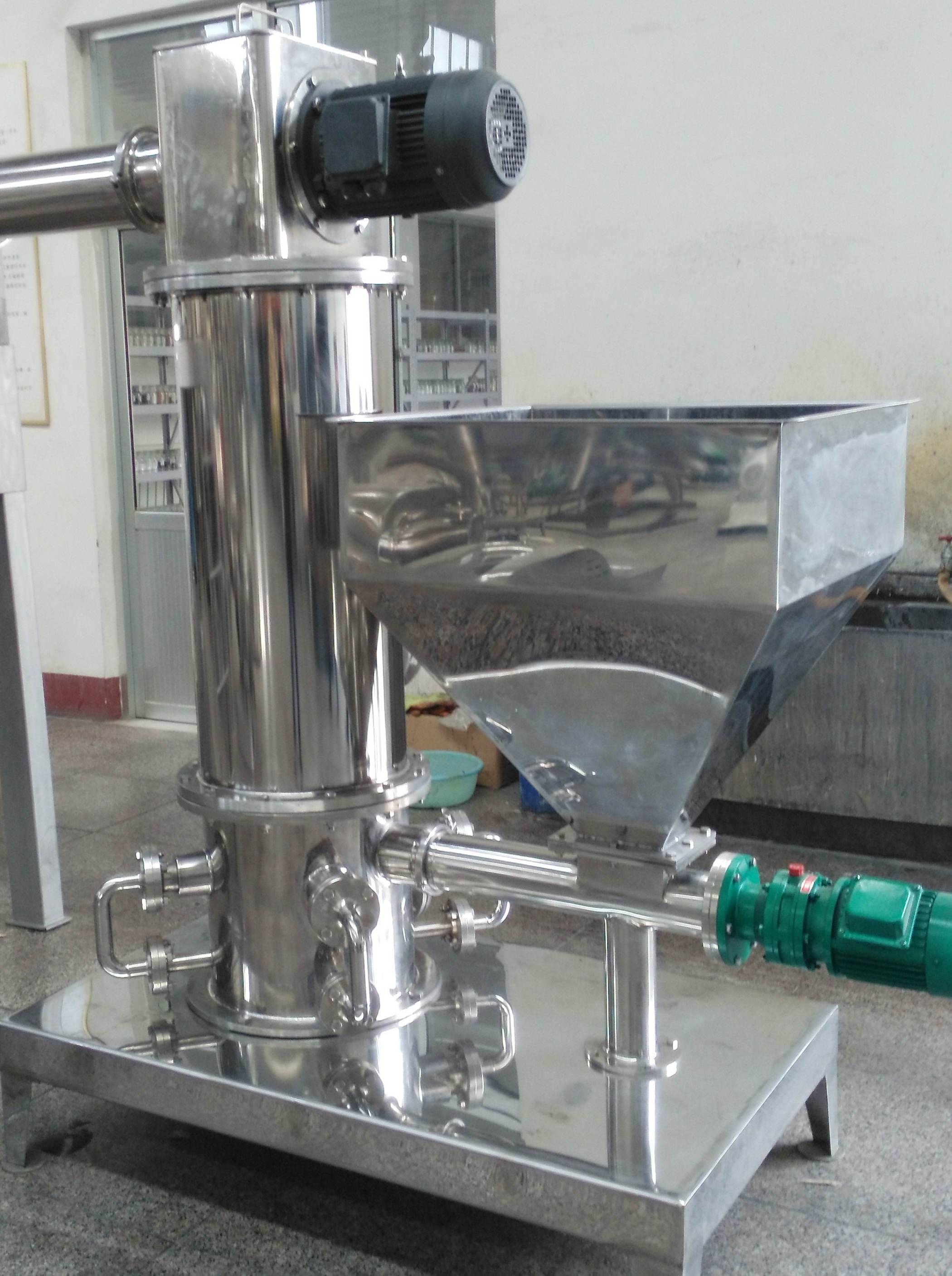 stainless steel type high-efficiency air jet mill for chemical and medicine