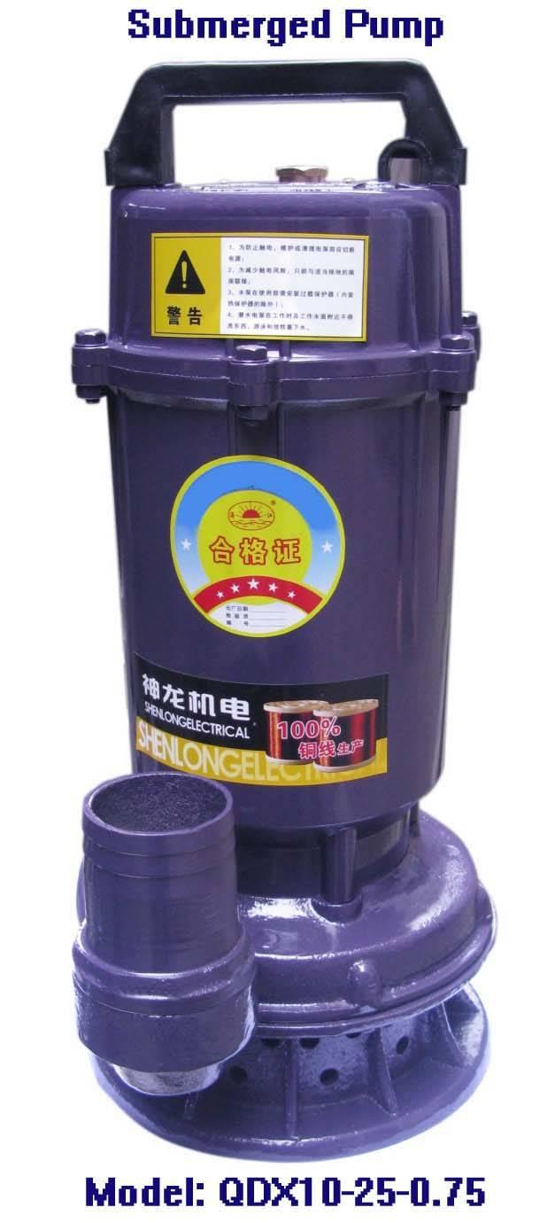Electric Submersible Pump-QDX10-25-0.75