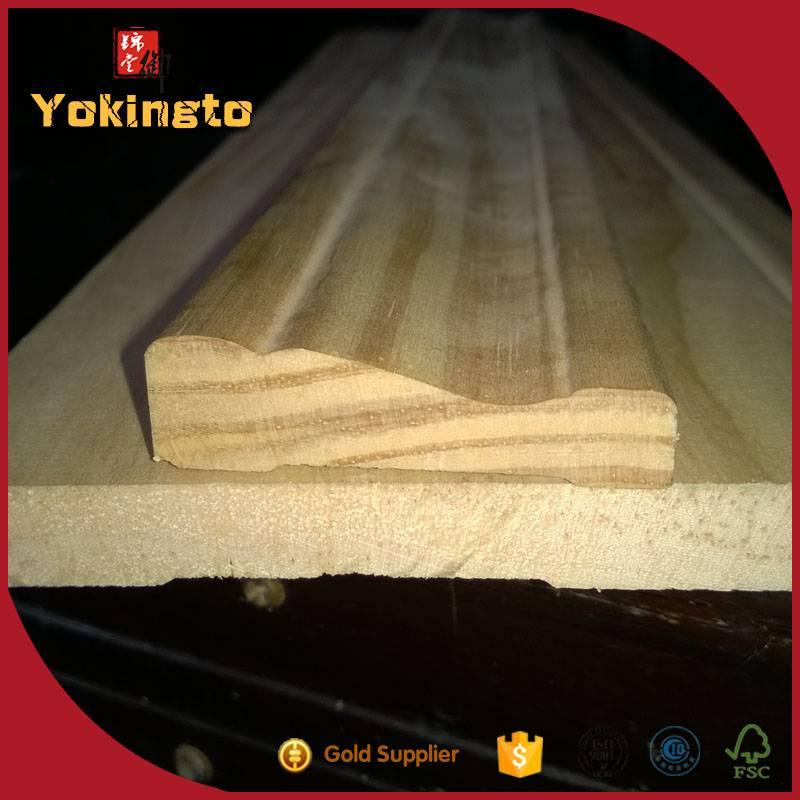 Wooden finger joint wooden picture frame moulding