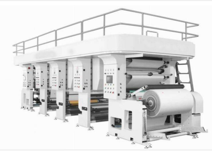 XYRA High speed flexo printing machine VS CI Central drum flexographic printing press