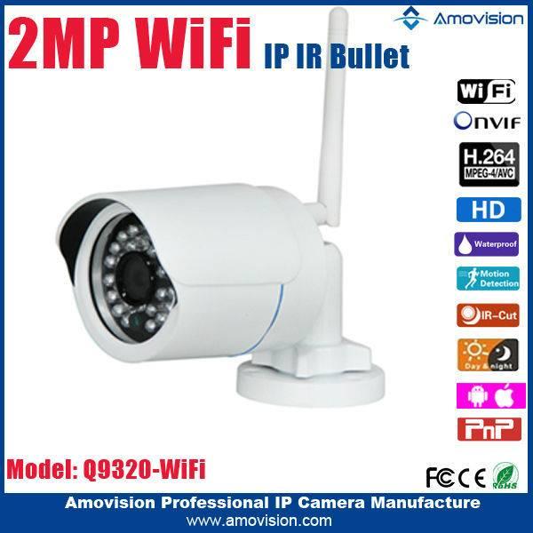 Amovision hottestQ9320 WiFi (1920*1080)P2P ONVIF ONVIF installing security bullet camera