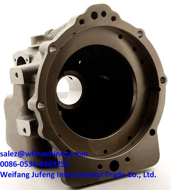 OEM Sand Casting Valve Body for Pump Casing