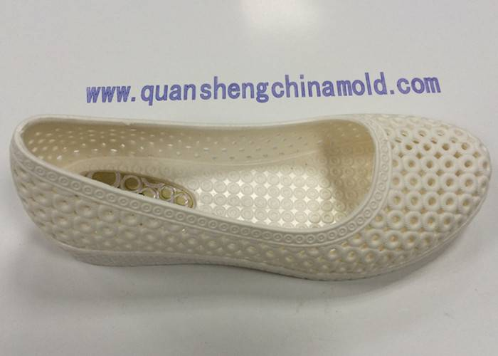 Sell PCU PVC airblowing slipper molds Jinjiang Quansheng Mold 86-13489382999