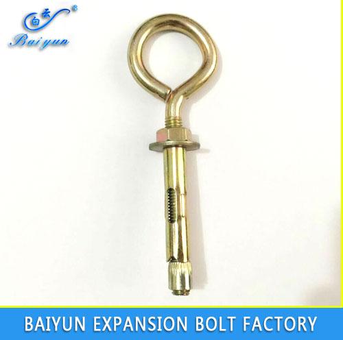 sleeve anchor with eye bolt