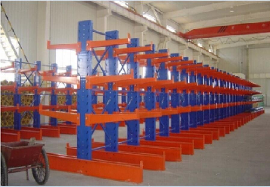 Warehouse Cantilever Racking System Pipe Storage Rack