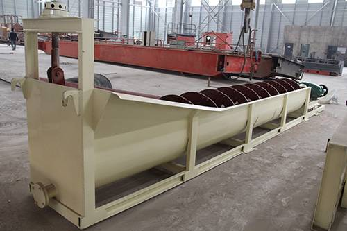 spiral classifier for sand or ore washing and separating from zhengzhou china