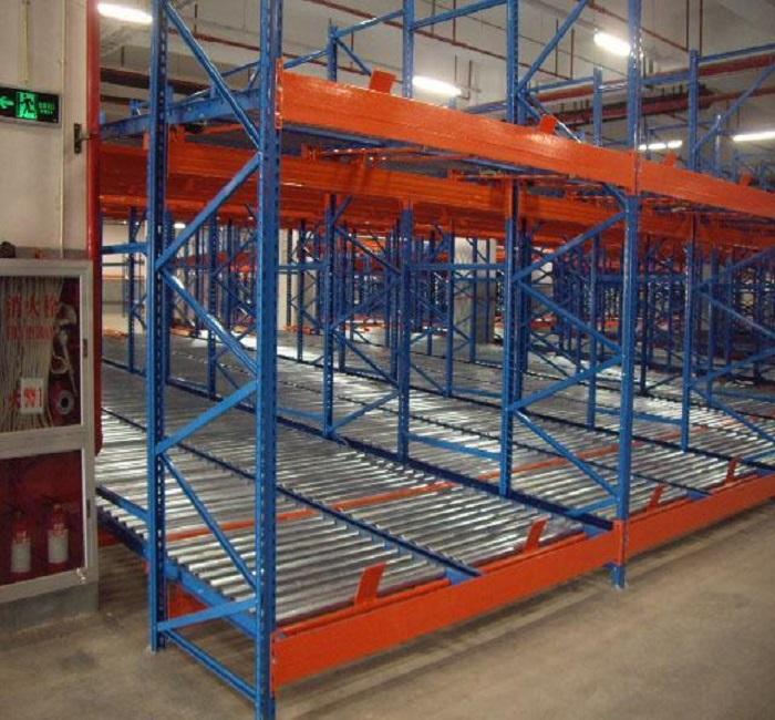 Heavy Duty Warehouse Carton Flow Rack Gravity Pallet Racking