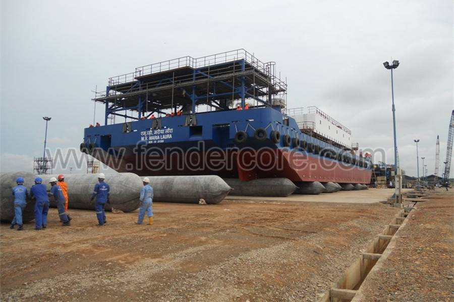 Ship launching rubber airbag with CCS CERTIFICATE