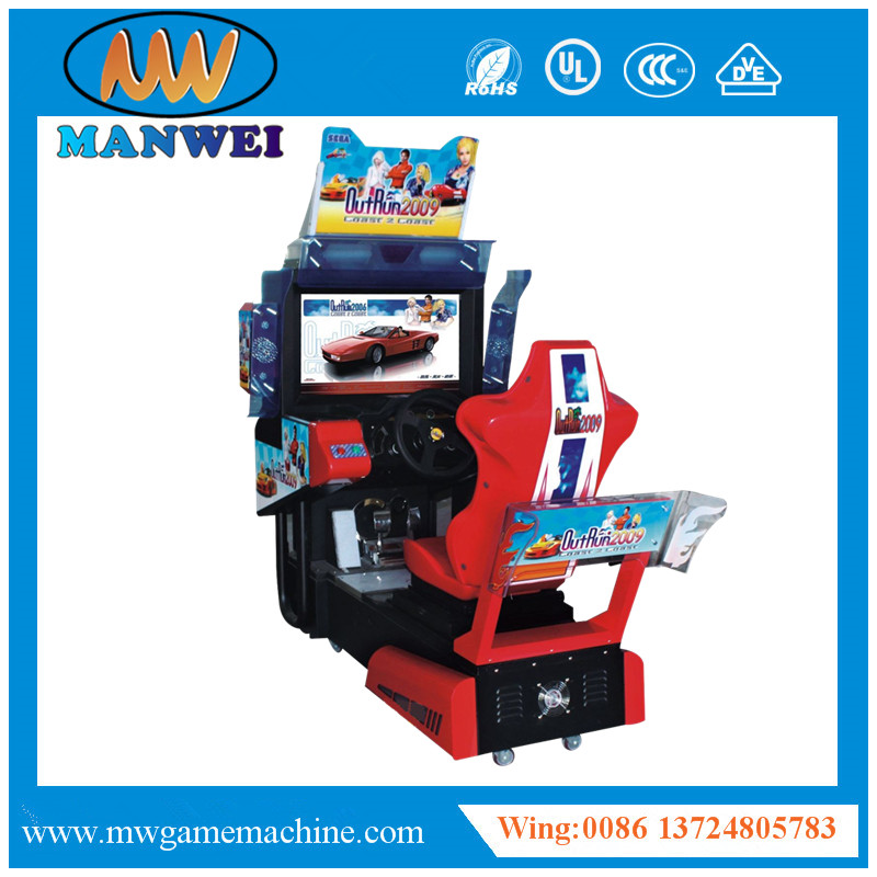 2017 The Most Popular Car Racing Coin Operated Simulator Video Games Machine Outrun