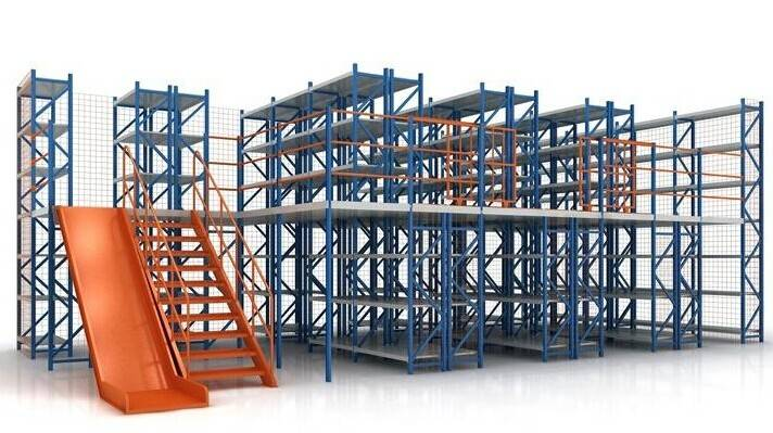 mezzanine racking system for SALE