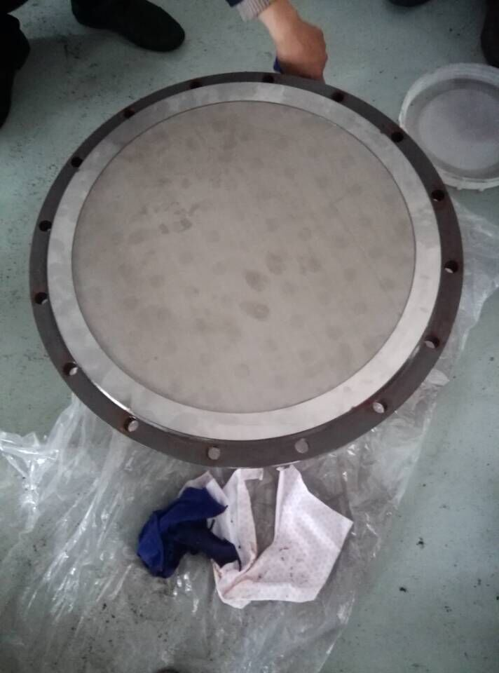 Stainless steel sintered mesh filter plate/pharmaceutical three-in-one sintered filter plate