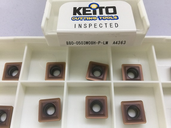 Carbide inserts 880-0503W08H-P-LM