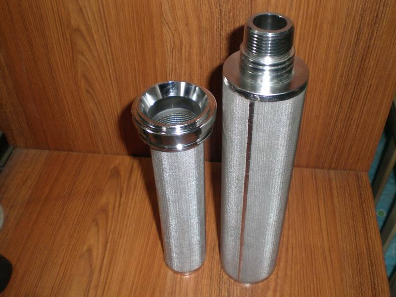 water stainless steel filter element