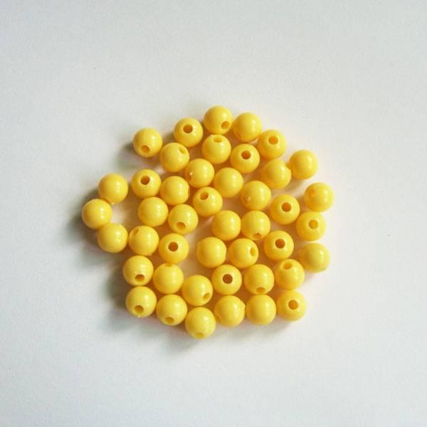 8mm Round Beads Orange color