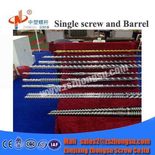 HDPE LDPE Twin Screw Barrel for Pipe Making