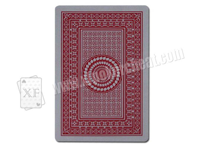 Casino Games Field Marshal Gold Invisible Playing Cards Paper Poker
