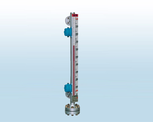 High temperature and high pressure type magnetic flap liquid level gauge