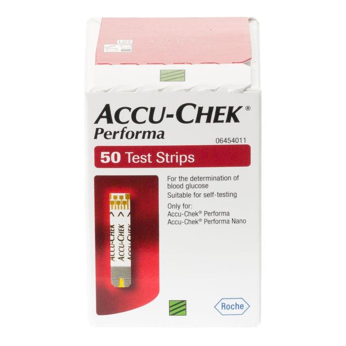 Accu Chek Performa 50 Test Strips