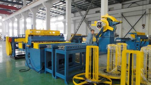 Mesh welding line ABE-2/4-1250
