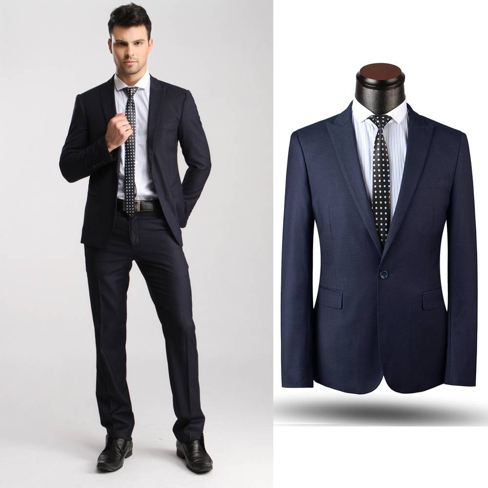 100% wool suits men wedding quality made to measure suits double breasted suit