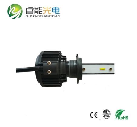 H7 LED headlight radiator fan