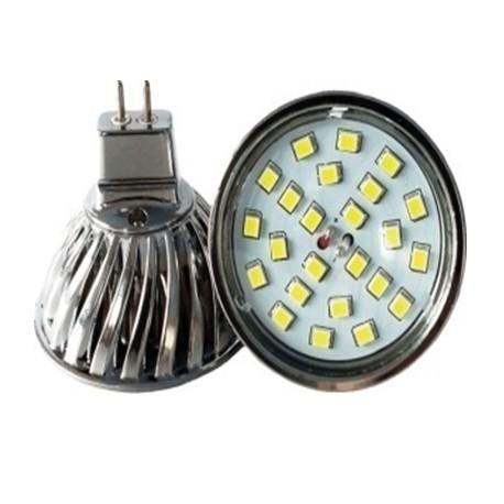 Led spotlight MR16 Gu5.3 high lumen bright reflector led bulb SMD2835